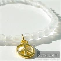 Pari white gold peace